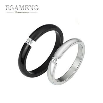 Fashion Rings for Women Titanium Steel Rings Lovers Men Women Jewelry Punk Party Accessories Wholesale GJ258