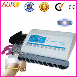 Free Shipping + 100% guarantee!!! ems electrodes machine with electronic muscle stimulation equipment for portable(China (Mainland))