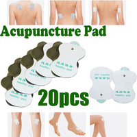 Free Shipping 20pcs New Electrode Pads Tens Acupuncture Digital Therapy Machine Massager Acupuncture Healthy Pad Replacement