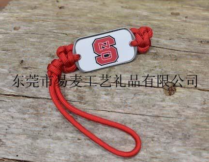 custom lanyard keychain style dog tag survival fashion jewelry modern key chain(China (Mainland))