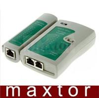 RJ45 RJ11 RJ12 CAT5 UTP NETWORK LAN USB CABLE TESTER Free Shipping