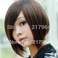 Fashion wigs,BoBo short hair wig + hair nets  Free shipping