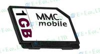 Free shipping !3pcs/lot Full Capacity PQI 1GB 2GB  MMC Mobile Multimedia Card RS-MMC