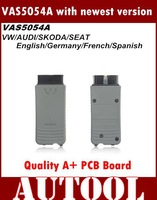 Free shipping 2015 top multi-language vas 5054a scanner V19 version VAS5054 vas 5054 Bluetooth vas5054a for VW AUDI skoda seat