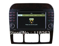 Newest In Dash for Mercedes Benz Car DVD GPS For W220 With Stereo Radio Bluetooth Phone