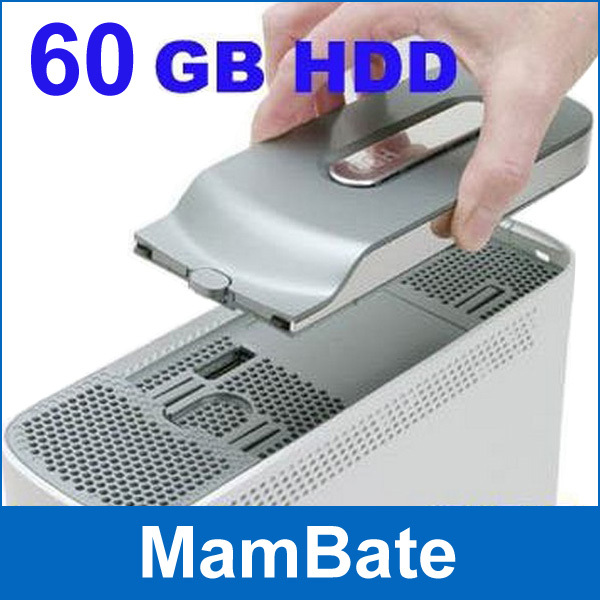 Brand New 60GB HDD Hard Disk Drive For Microsoft Xbox 360 wholesale # 160190(China (Mainland))