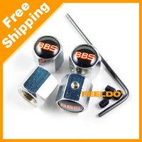 New 4PCS Caps Anti-Theft Locking Tire air valve caps For BBS