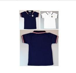 5pcs boys summer  t-shirt childrens short sleeve  shirts boys'  gentleman t shirts children clothing 3 color free shipping