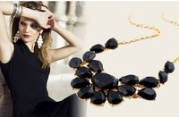 luxury gem women's short design necklace statement necklace choker TN-11.99