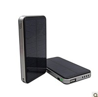 3000mAh Lithium Battery solar power charger for mobile phone Cell phone Camera handphone charger