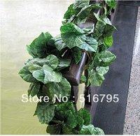 250 CM Artificial Silk flower vines / Wedding Vine artifical leaves Plant / courtyard decorations party decor