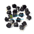20 PCS Blue Car Rocker OFF/ON SPST Switch Led Light OFF/ON 12V 16A Hot Sale TK_CB08(China (Mainland))