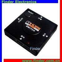3x1 Mini HDMI Switch, 3 way Selector, No need power