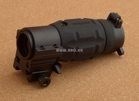 Free Ship Tactical 3x Magnifier Fit Aimpoint  Red Dot Scope Accessories With 30mm QD Twist Mount M9942