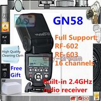 Yongnuo YN-560 III YN560III Third Generation for Canon Nikon Pentax Camera Flash Flashgun Speedlite PF073
