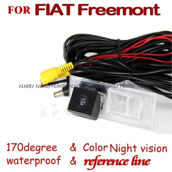 HD CMOS Car rear view back Camera reverse backup parking for SONY CCD Fiat Freemont 2012 2013
