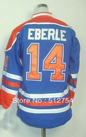 Free Shipping, #14 Eberle Kids/Youth Hockey Jersey,Ice Hockey jersey,Embroidery logos,size S--XL,Accept Mix Order