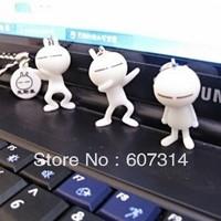 Wholesale fashion discount promotional Valentine Day gift novelty cartoon cute kawaii Tuzki mobile phone pendant free shipping
