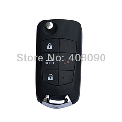Folding Remote Key Shell Case For Nissan Sentra Altima Maxima 3BT + Panic DKT0247(China (Mainland))