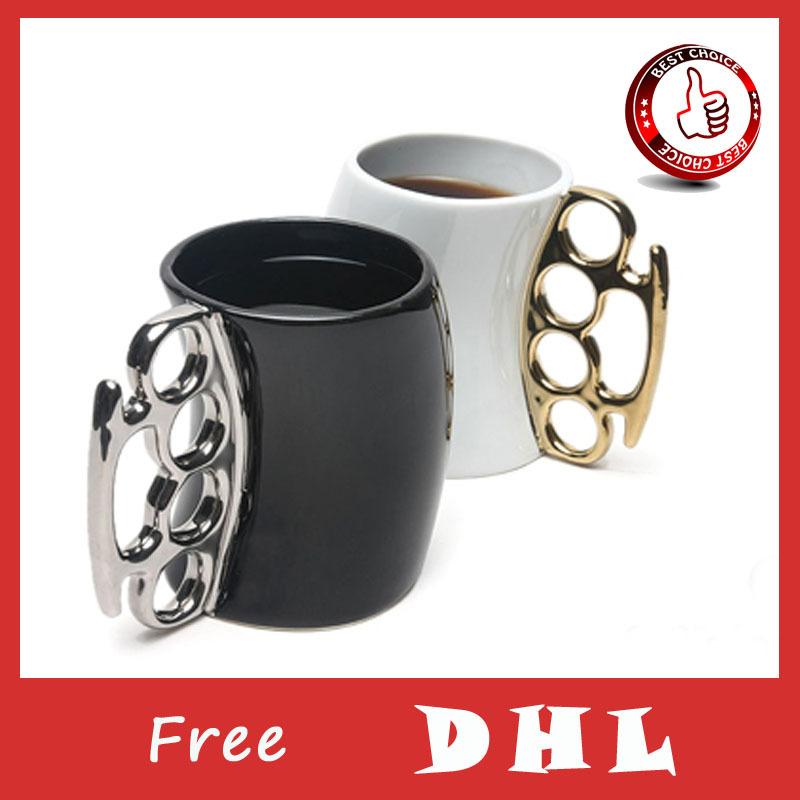 Fred Friends Coffee Mug Odd Fist Cup Boxing Mugs Creative Fisticup Gift Free DHL(China (Mainland))