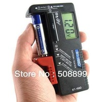 Freeshipping Universal Scales Handheld Battery Volt Tester for 1.5V AA AAA CD Cell 9V Batteries +Dropshipping