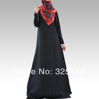 New style Elegance Black Abaya For Women,High Quality Muslim Jilbab,Arabic Dress,Islamic Clothing In Dubai,Free Shipping