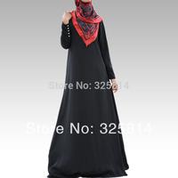 New style Elegance Black Abaya For Women,High Quality Muslim Jilbab,Arabic Dress,Islamic Clothing In Dubai,Free Shipping