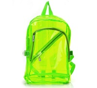 Free shipping 2014 new neon Traveling black/blue/green/orange/pink/purple beach bags,women&men hot sale cool backpack waterproof