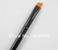 Free shipping! nylon hair eyebrow brush, eyeshadow brush, makeup brow brush