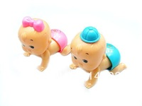 Wind-up Doll Toy Will Climb Will Twist Butt 2pcs/set