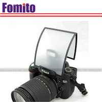 Universal Soft Screen Pop-Up Flash Diffuser For Nikon Canon Pentax Olympus+free shipping