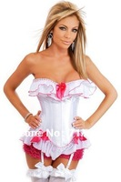 Appeal underwear Palace exercise selfcontrol clothes Falbala system garters round-up corset/LB4305