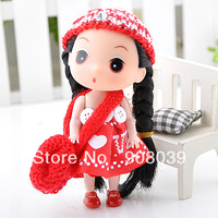 lowest promotion  cloth fashion doll for girl toys doll birthday gift free shipping