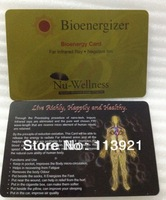 1mm Nano Energy Card with negative ions energy 2000~3000ions