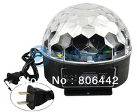 Promotions!! 3Pcs/Lot Digital RGB LED Crystal Magic Ball Effect Light Disco DJ Stage Lighting 20W 90-240V 8935