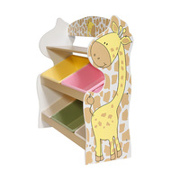 Giraffe toy shelf