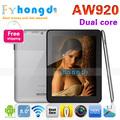 В акции !8inch Iaiwai AW920 minipad tablet pc RK3066 Dual Core 8 ГБ ROM с Двойной Камерой, HDMI WIFI+Бесплатная Доставка