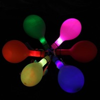 Flashing LED Balloon Colorful Party Supply Balloon Round Shape 50 PCS/LOT