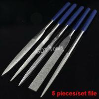 """Free Shipping (1 set) Needle Diamond File Set Gunsmith Crafts Mechanics Jewelers 180mm 7"""""""