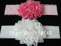 Cute Baby Infant Toddler Flower Padded Hairband Headband with Glitter Hair Accessories, Free Shipping