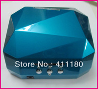 2013 New Long Life Diamond CCFL/LED Lamps Nail Art uv Led Nail Lamp