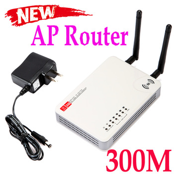 2 Antennas Mini Wireless-N WiFi USB AP Router 300M 3G WAN Networking Free Shipping Wholesale