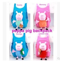 Free shipping.kids' schoolbag.cute backpack.children 3-5years old bag.fashion brand cartoon