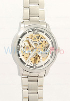 WholesalePro Daybird Men's Over-the-Top Luxury Skeleton Gold MOVT Watches Free Shipping