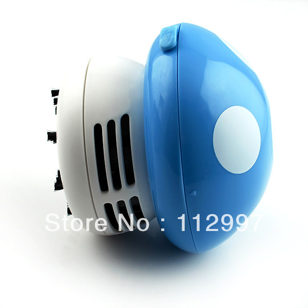 Free Shipping 10 pcs/lot Cute Mini Mushroom Keyboard PC Desk Desktop Laptop Dust Collector Vacuum Cleaner