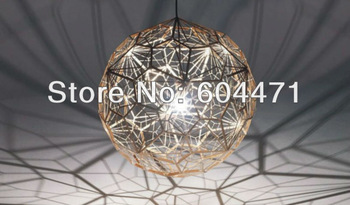 2013 Tom dixon New Modern brass Etch web pendant Light also for wholesale