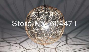 2013 Tom dixon New Modern brass Etch web pendant Light also for wholesale