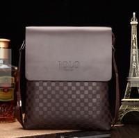 2014 New Genuine leather man BAG male shoulder BAG  Free Shipping Fashion Business Man/ Men messenger Bags for men