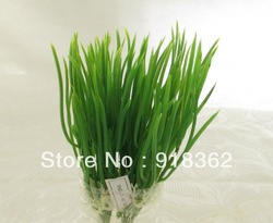 Free Shipping(50bunches/Lot)artificial grass,plastic material, wholesale or retail,home decoration,garden decoration(China (Mainland))