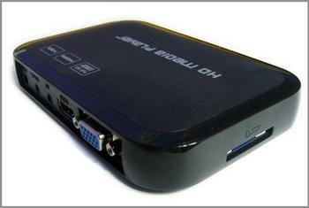 Full HD 1080P USB External HDD Media Player with HDMI VGA SD support MKV H.264 RMVB WMV Brand New